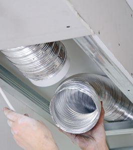 ventilation system indoors