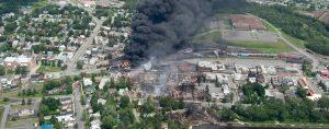 Lac Megantic disaster site