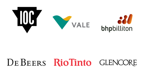 Nimonik's clients from the Mining Industry
