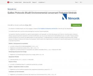 Audit Protocols French