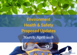 EnvironmentHealth & SafetyUpdates