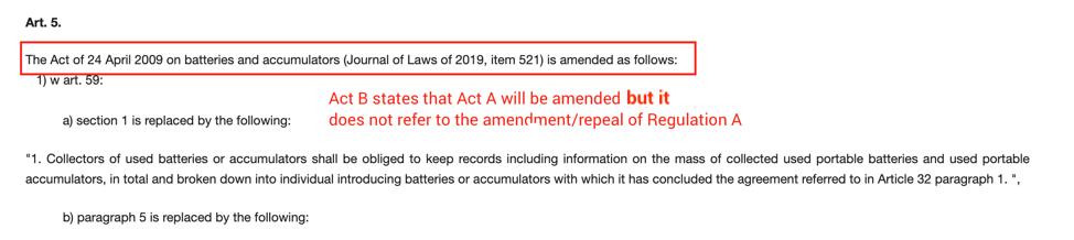 Poland legal register screenshot