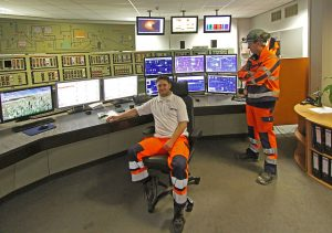 cement control room