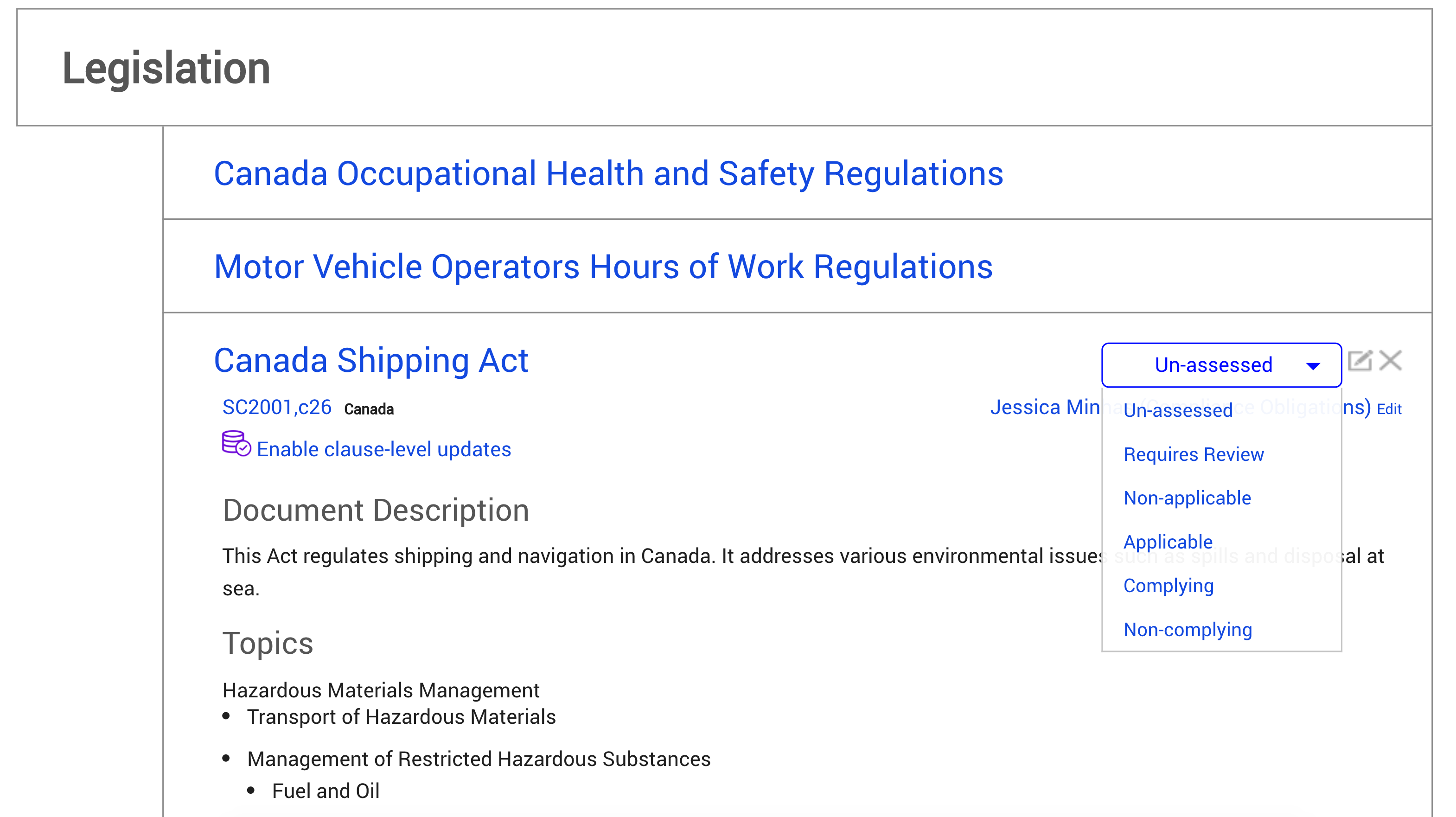 Ehs Legal Compliance Nimonik Quality Safety Health