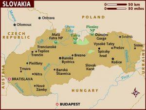 map_of_slovakia