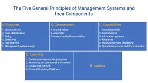 the five general principles